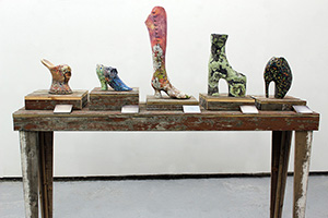 Maslen and Mehra - Impermanent Collection (Shoe Exhibit) - 2012