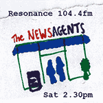 Logo resonance 104.4fm - The Newsagent